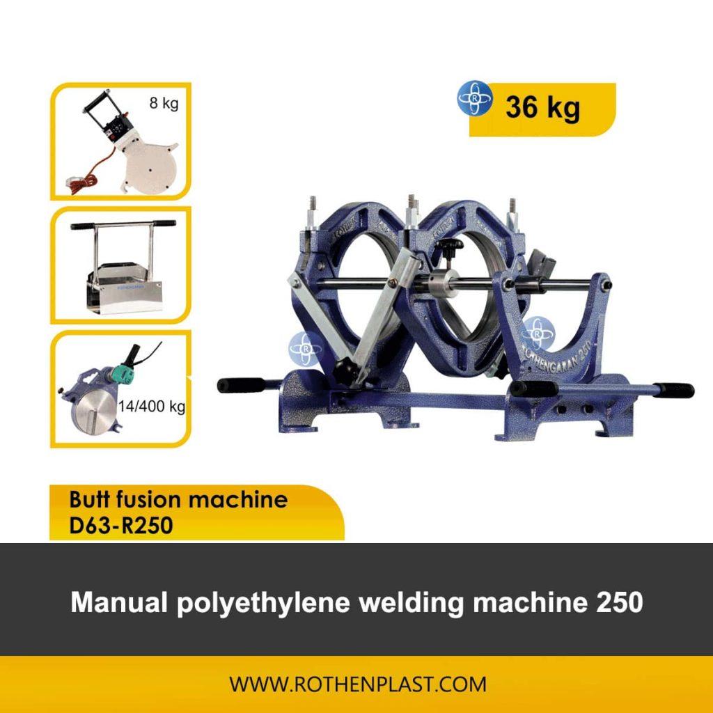 Butt fusion machine D63-R250