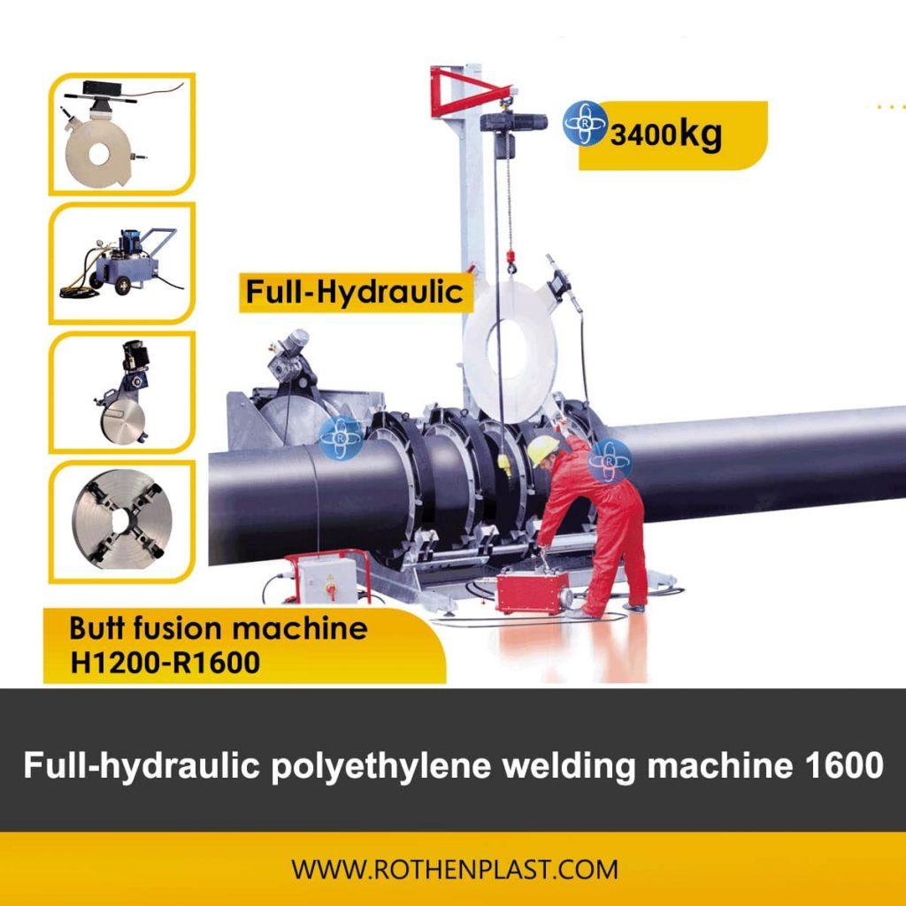 Butt fusion machine H1200-R1600