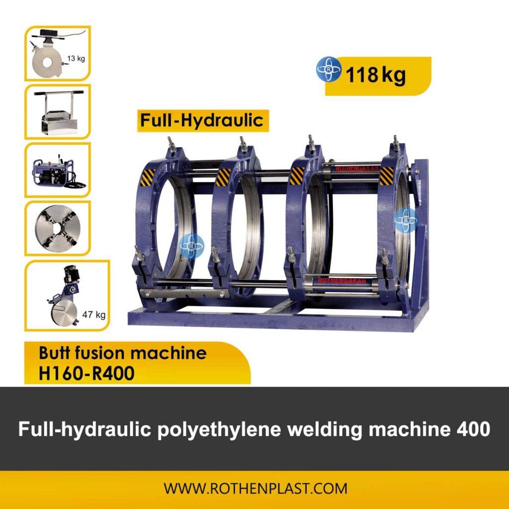 Butt fusion machine H160-R400
