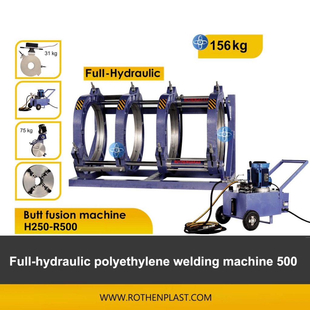 Butt fusion machine H250-R500