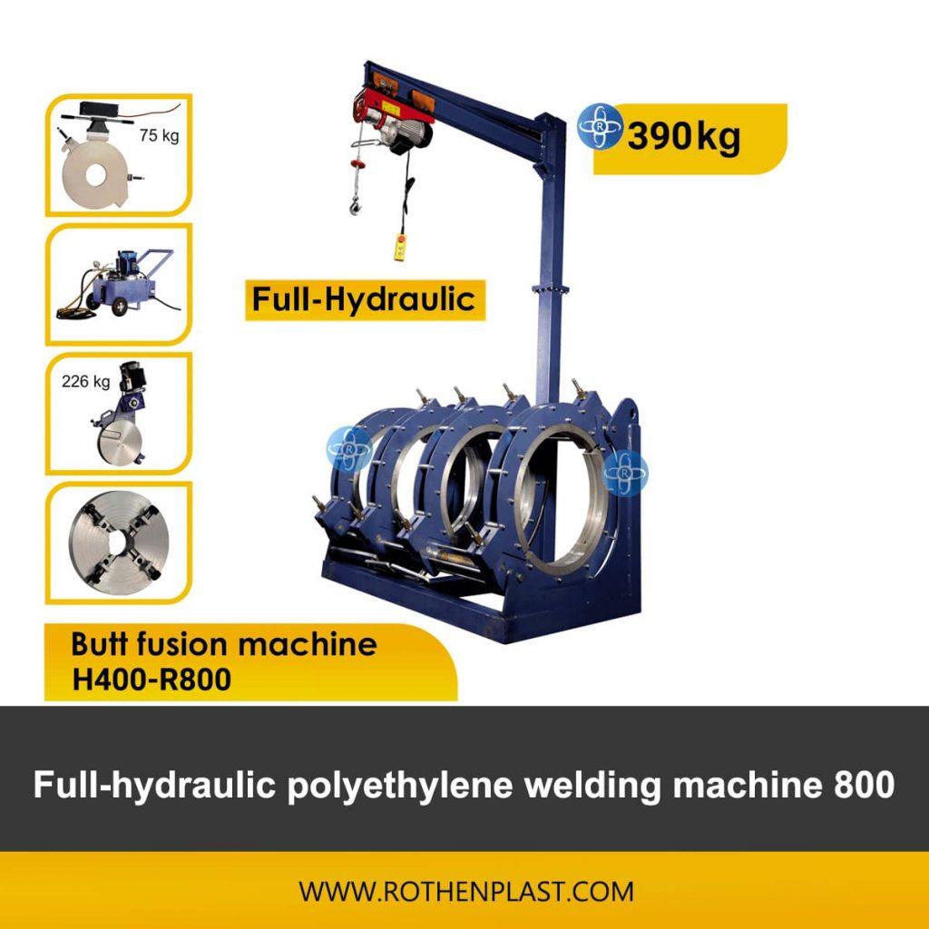 Butt fusion machine H400-R800