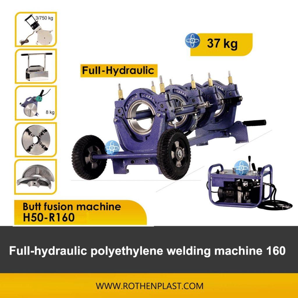 Butt fusion machine H50-R160