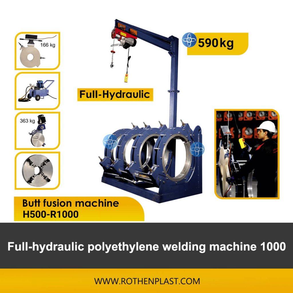 Butt fusion machine H500-R1000