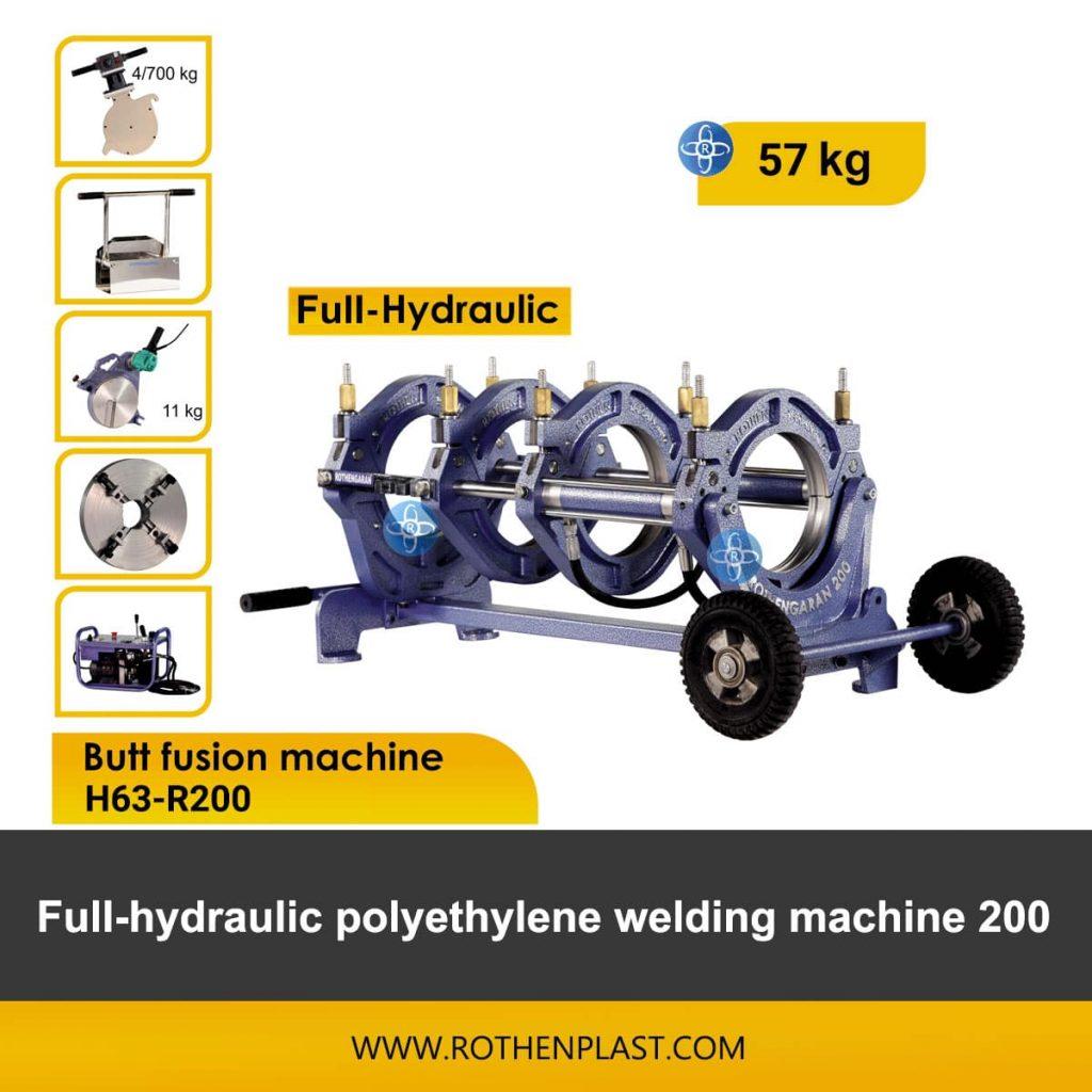Butt fusion machine H63-R200