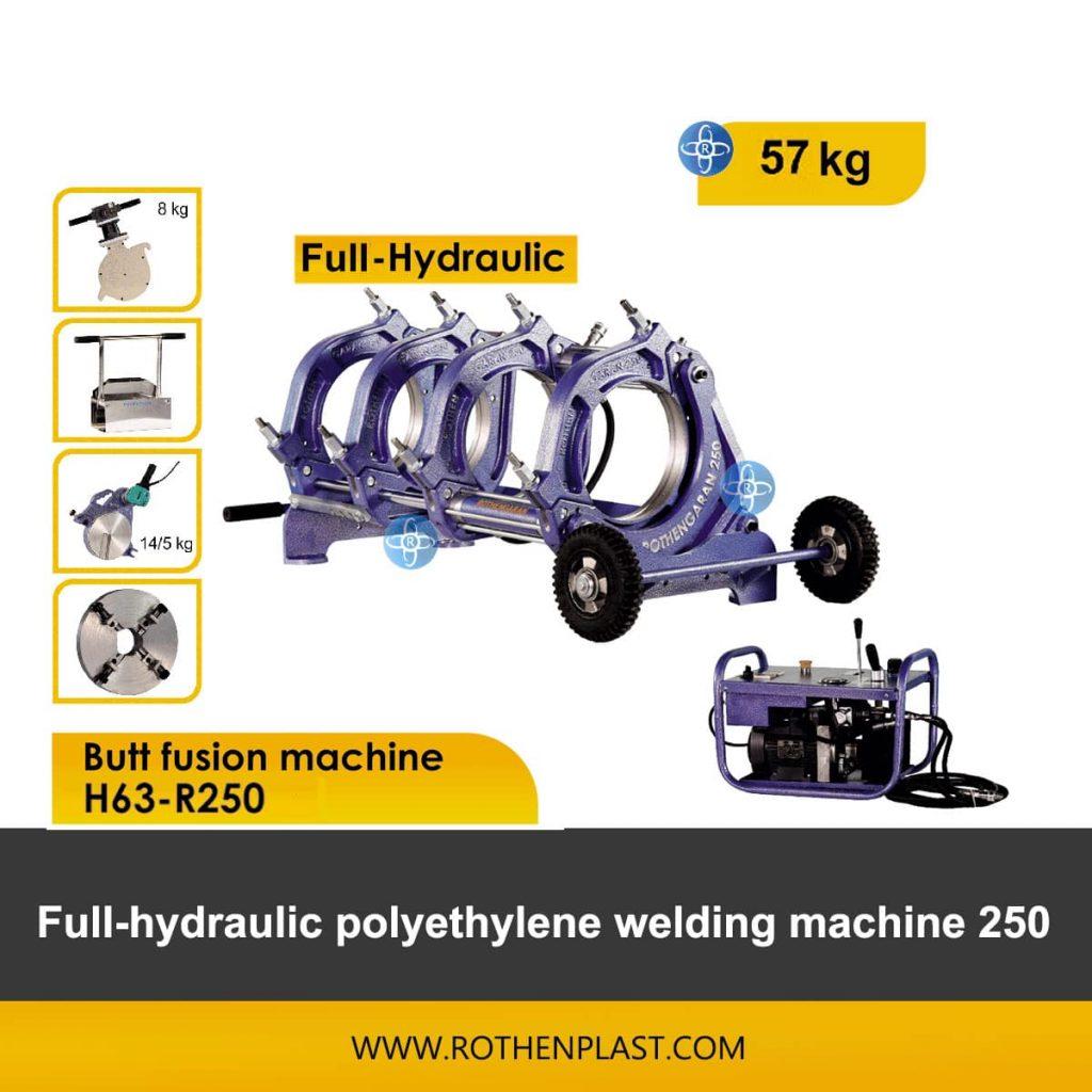 Butt fusion machine H63-R250