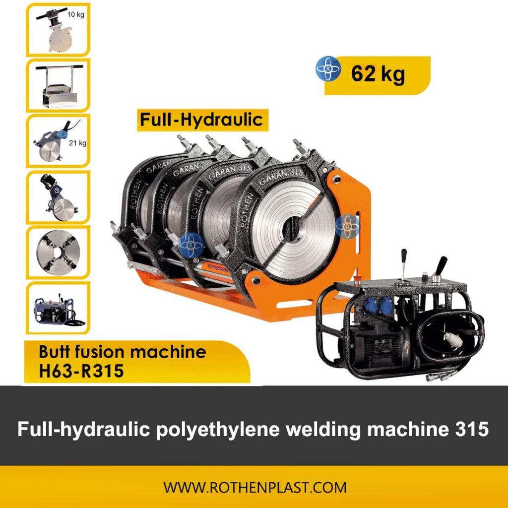 Butt fusion machine H63-R315