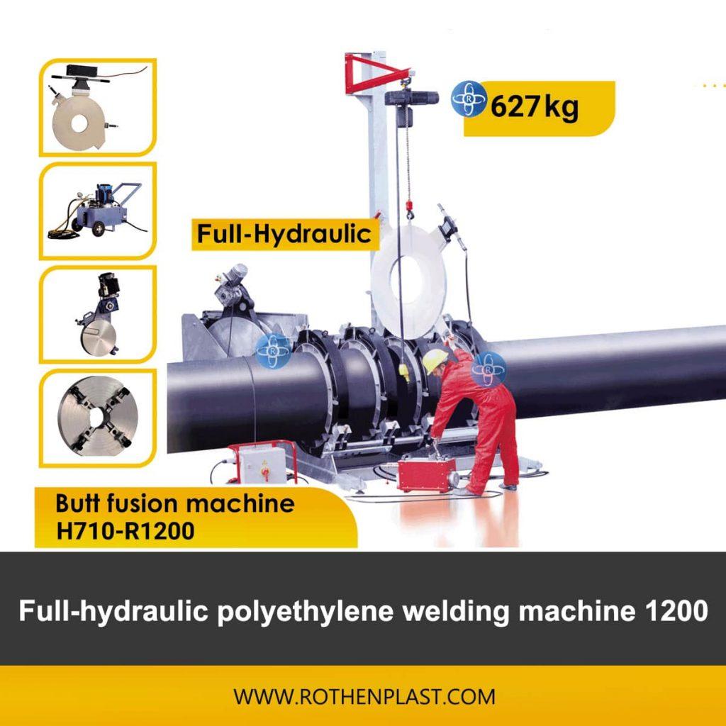 Butt fusion machine H710-R1200