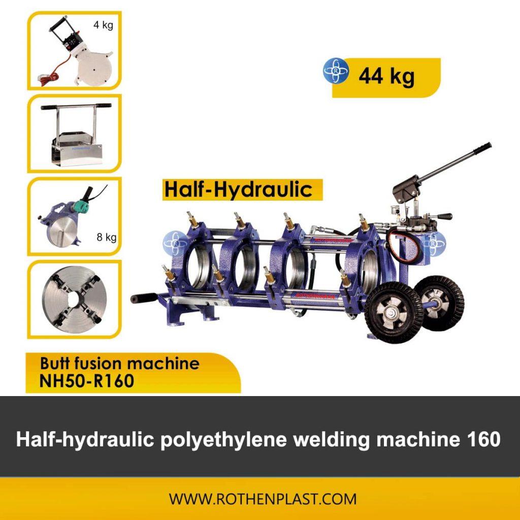 Butt fusion machine Half Hydraulic NH50-R160