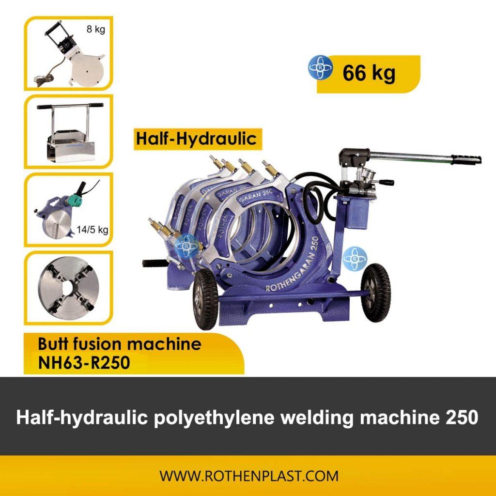 Butt fusion machine Half Hydraulic NH63-R250