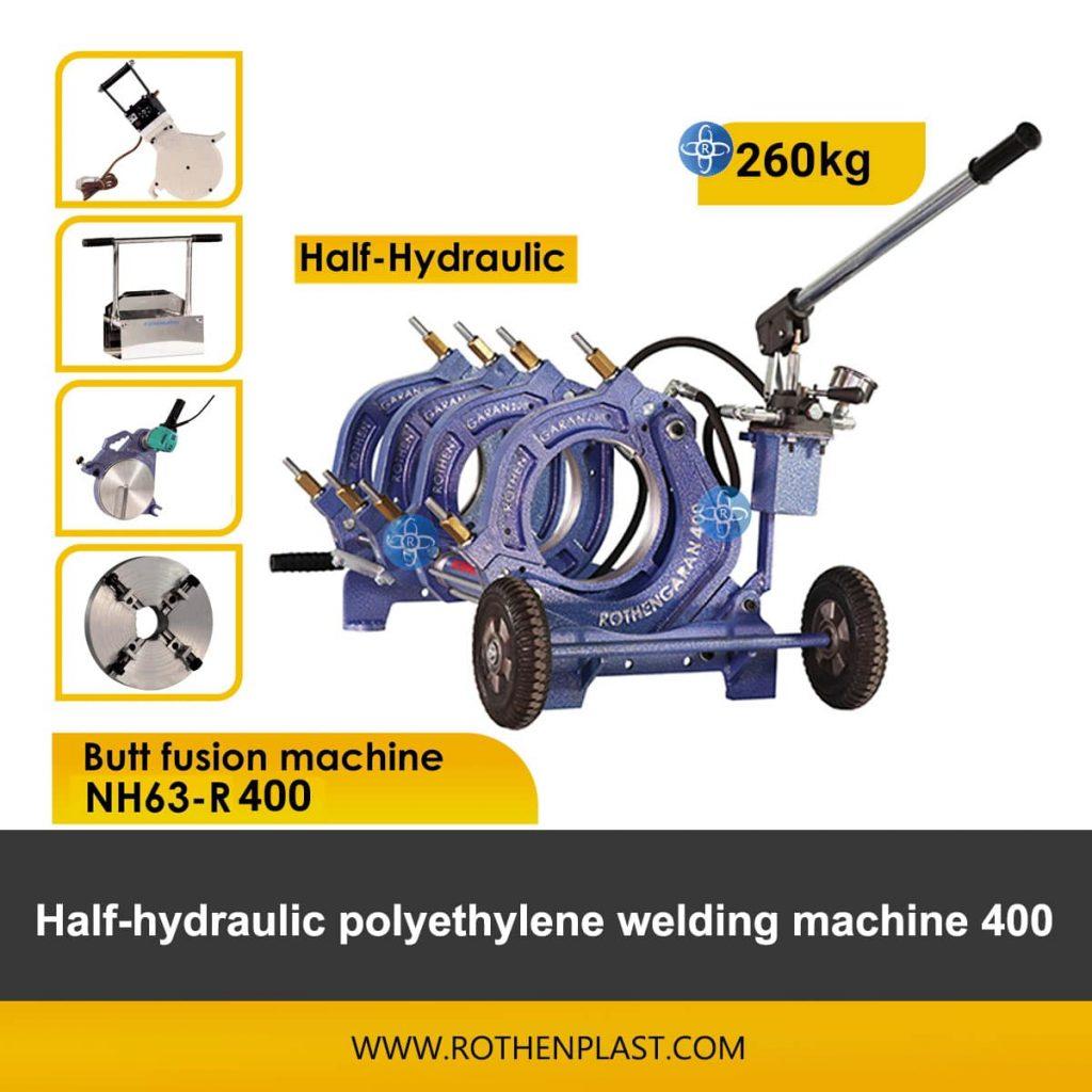 Butt fusion machine Half Hydraulic NH63-R400