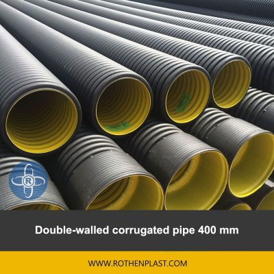Double walled corrugated pipe 400 mm