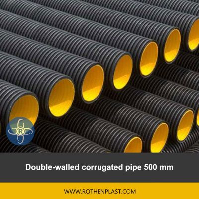 Double walled corrugated pipe 500 mm
