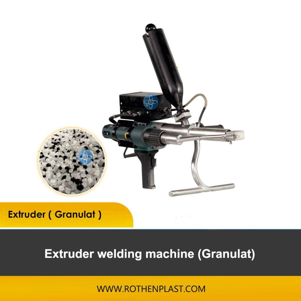extruder granulat