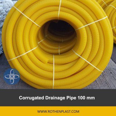 Corrugated Drainage Pipe 100 mm