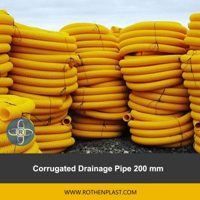 Corrugated Drainage Pipe 200 mm