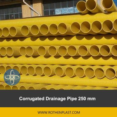 Corrugated Drainage Pipe 250 mm