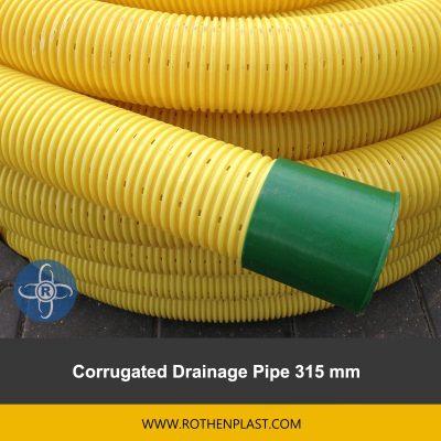 Corrugated Drainage Pipe 315 mm