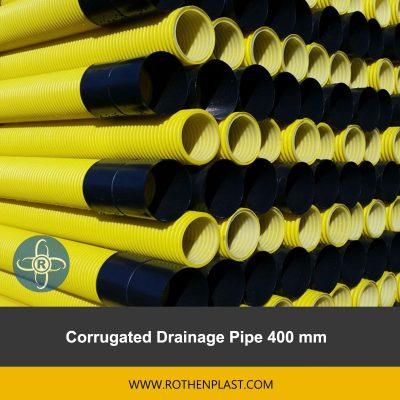 Corrugated Drainage Pipe 400 mm