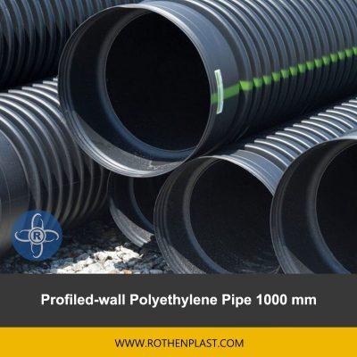 Profiled wall Polyethylene Pipe 1000 mm