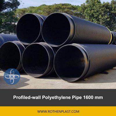 Profiled wall Polyethylene Pipe 1600 mm