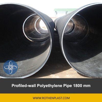 Profiled wall Polyethylene Pipe 1800 mm