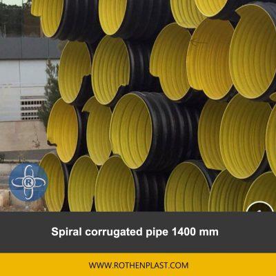 spiral corrugated pipe 1400 mm