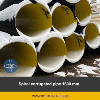 spiral corrugated pipe 1600 mm